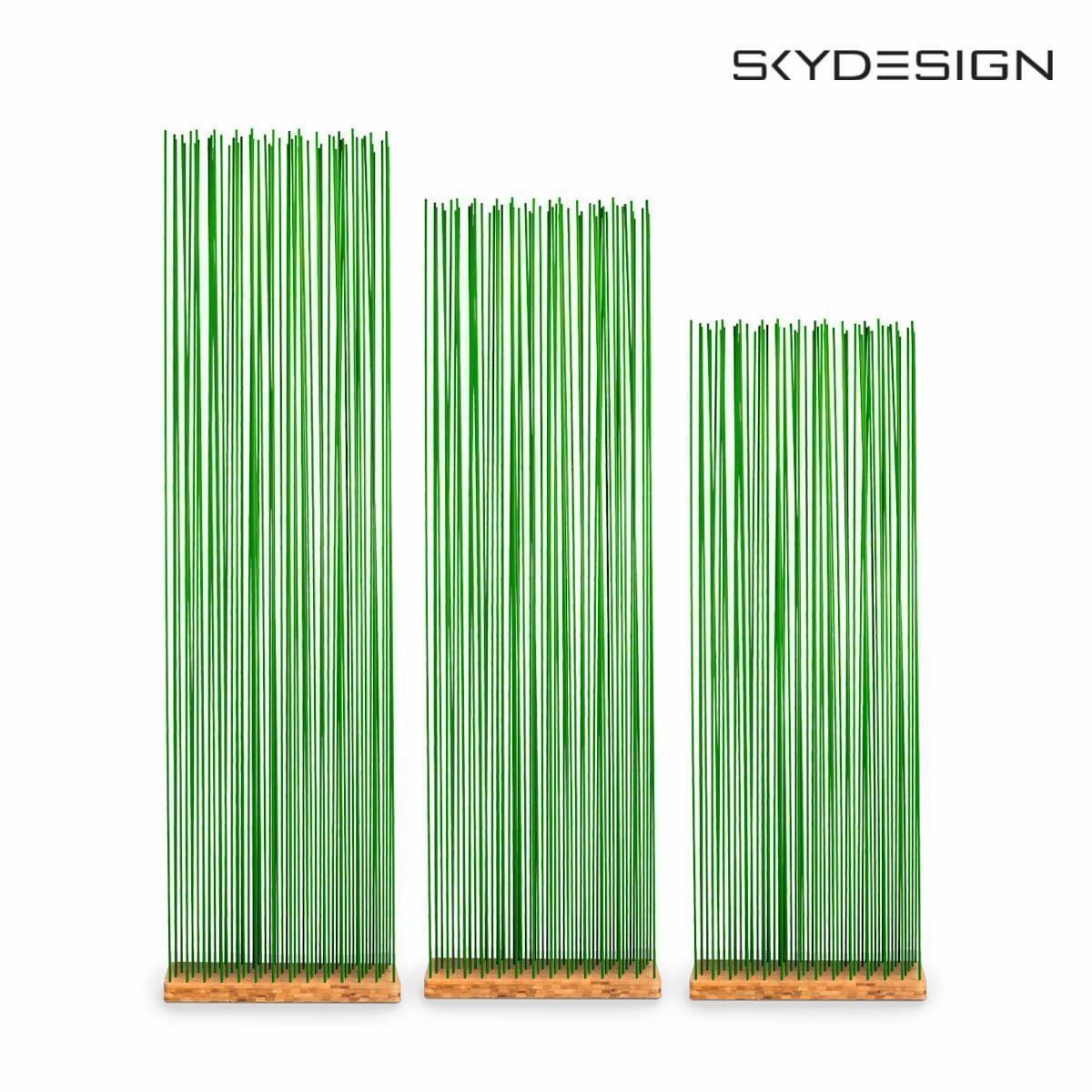 Sichtschutz Grun Basis Bambus Sichtschutz Im Garten Naturlicher