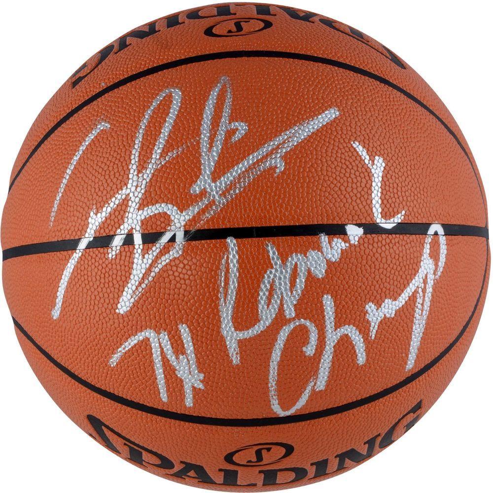Dennis Rodman Autographed Basketball with Basketball