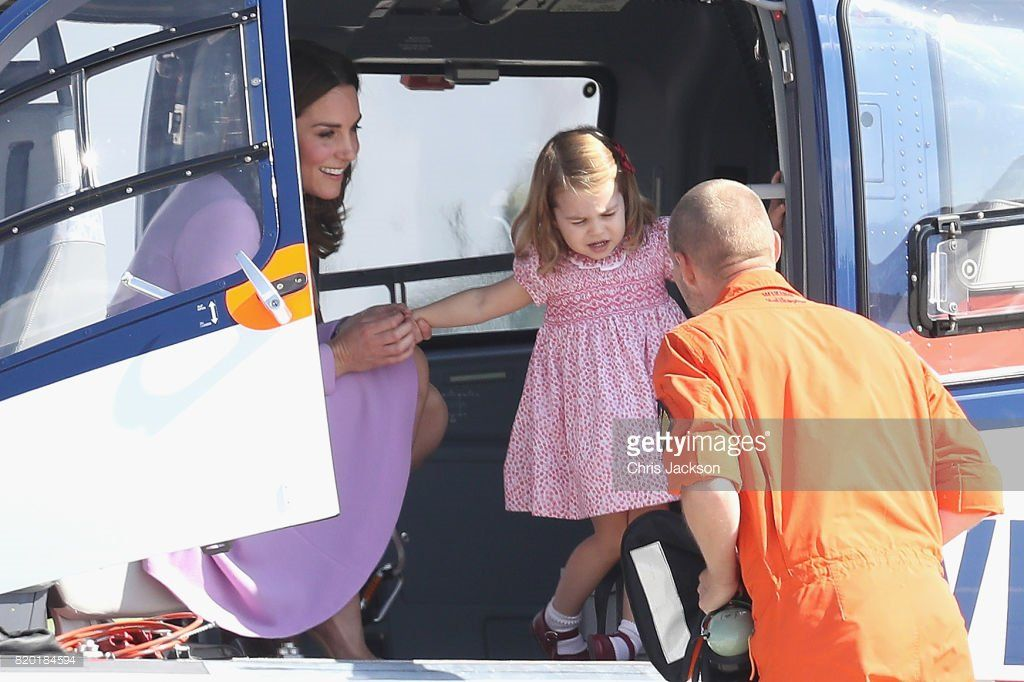 Mace (@RoyaleVision) on Twitter: The Duchess of Cambridge and Princess Charlotte, July 21, 2017