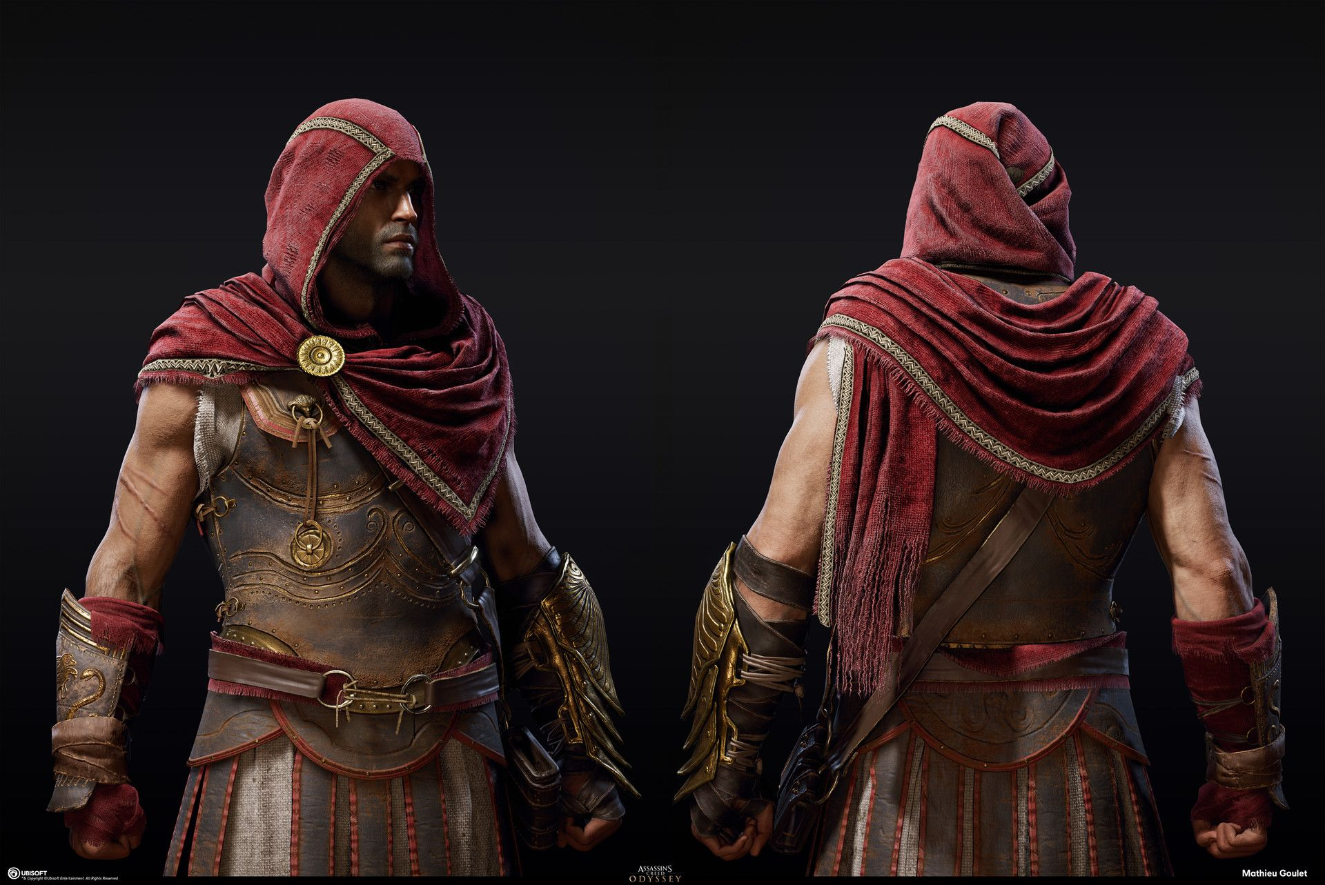 Artstation Assassin S Creed Odyssey Iconic Outfit Mathieu