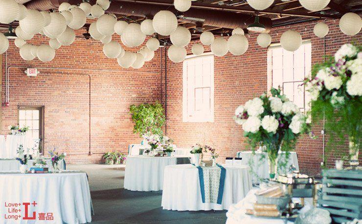 #wedding #deco #lantern #flower