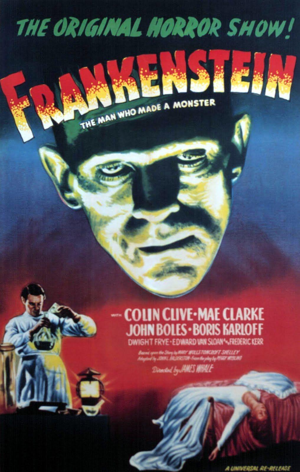 Afi Top 100 87 Frankenstein 1931 Starring Colin Clive Mae Clarke