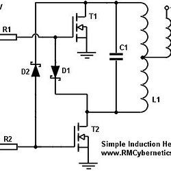 Circuit Diagram Of Induction Heater | Simple Diy Induction Heater Induction Heating Pinterest Diy