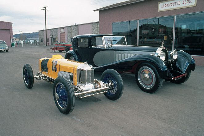 1931 Bugatti Royale 1927 Miller 91 Race Car In 1975 While Part Of The Bill Harrah Collection