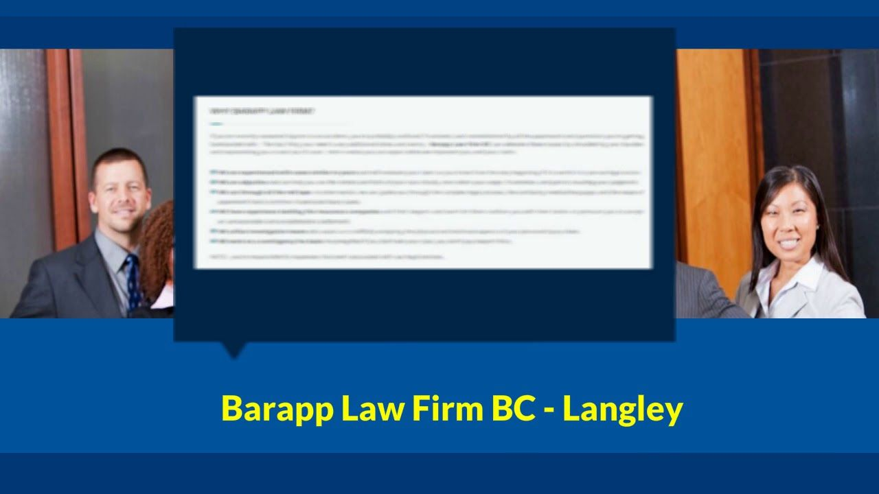 Pin by Barapp Law Firm BC on Personal Injury Lawyer