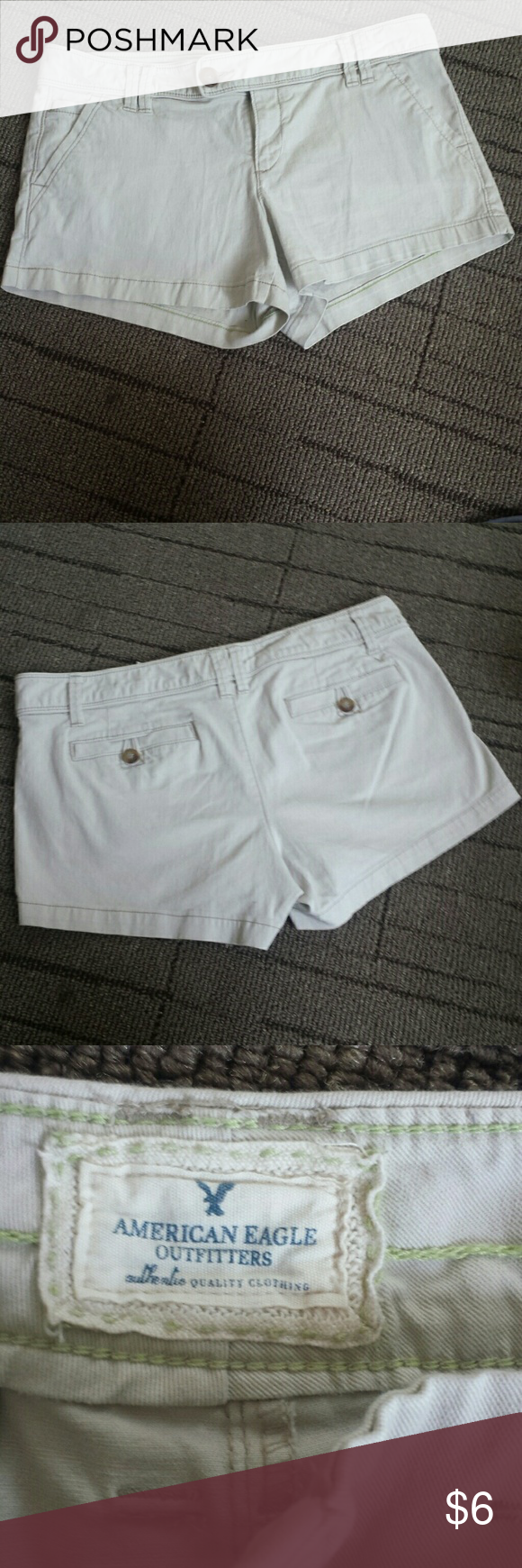 American eagle outfitters shorts Khaki shorts, a little wrinkled in pic, like new Shorts