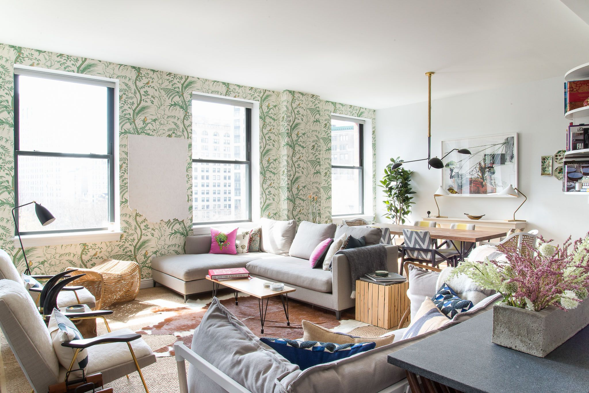 A Homepolish designer in New York helped a jet-setting couple ...