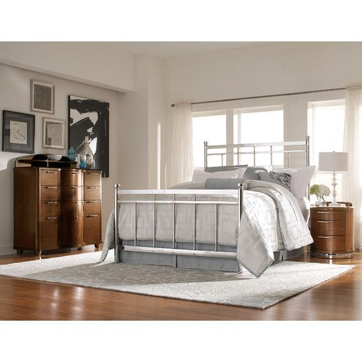 Woodbridge Home Designs Zelda Metal Bed Allmodern Contemporary