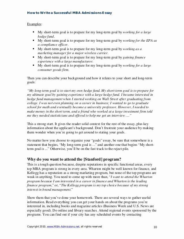Career Goals Essay Example Awesome 49 Professional Goals Essay For