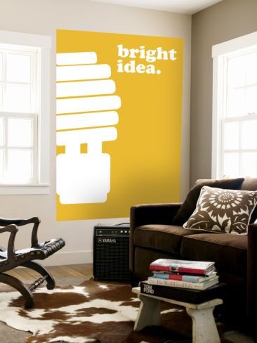 Bright Idea | Wall murals and Walls