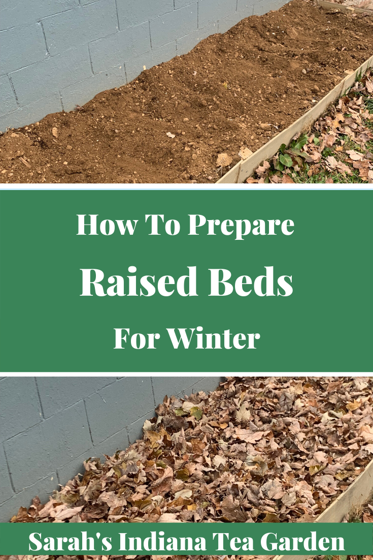 How to prepare raised beds for winter- Sarah's Indiana Tea Garden