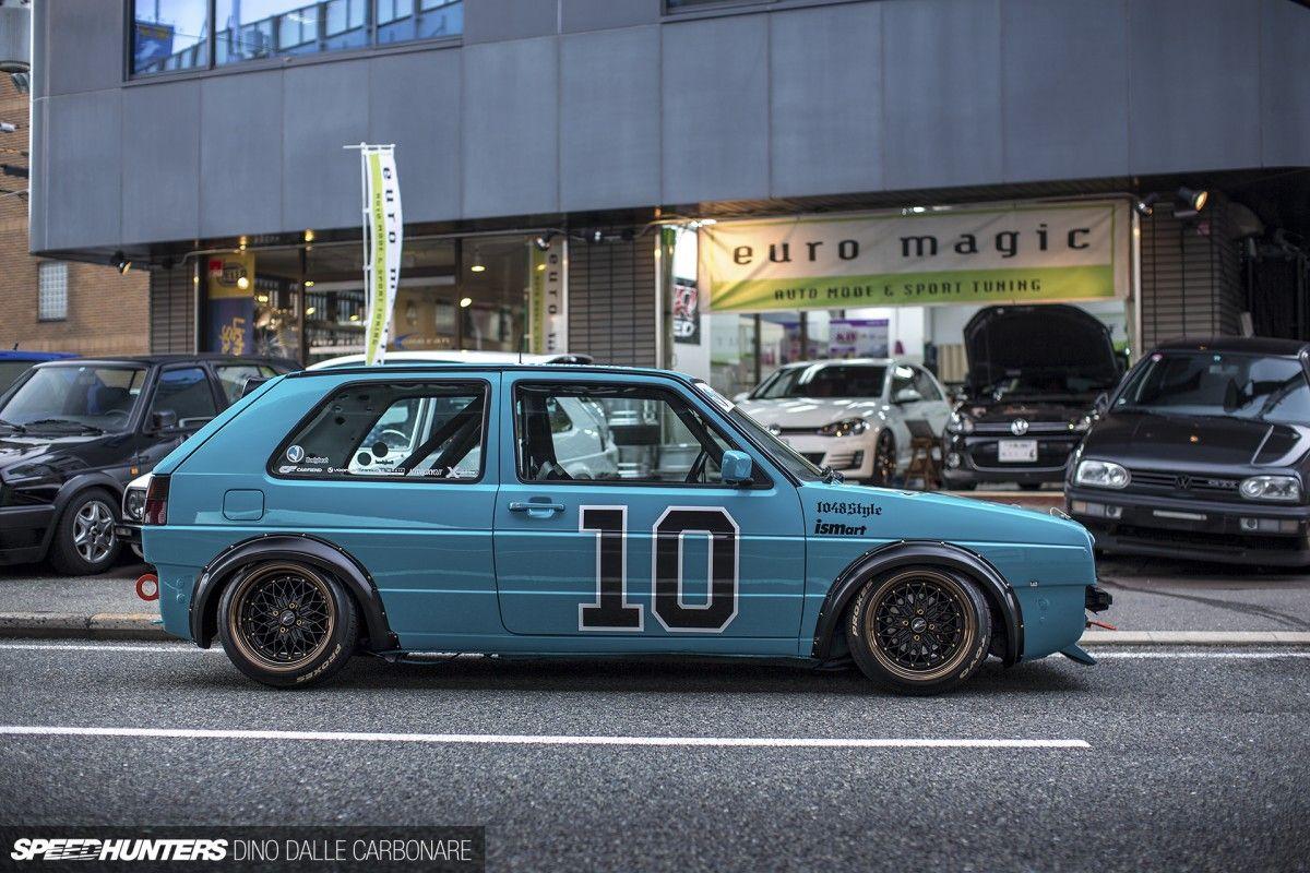 Volkswagen Golf Mk2 From Euro Magic In Osaka