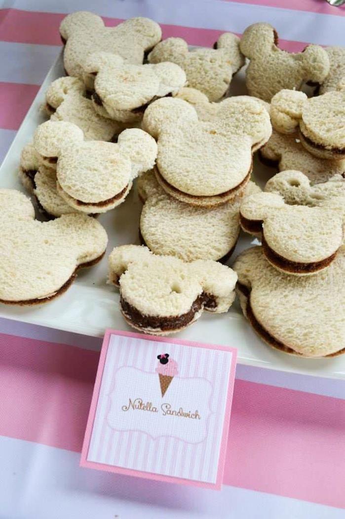 Photo of Minnie Mouse Ice Cream Shop Party Planungsideen liefert Ideenkuchen