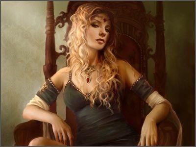 Cersei Lannister Com Imagens Garota Fantasia Retrato Arte