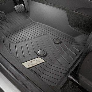 Gm 84056631 Premium Allweather Floor Liners In Black Front Genuine