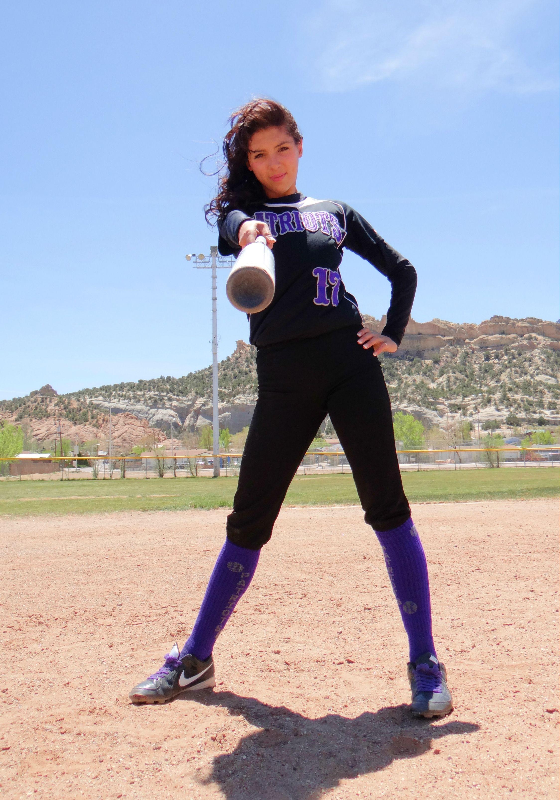 Softball Senior picture