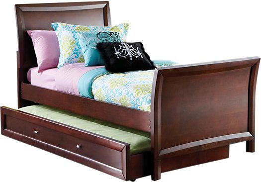 Shop for a Ivy League Cherry 3 Pc Twin Sleigh Bed at Rooms To Go Kids. Find  that will look great in your home and complement the rest of your furniture.