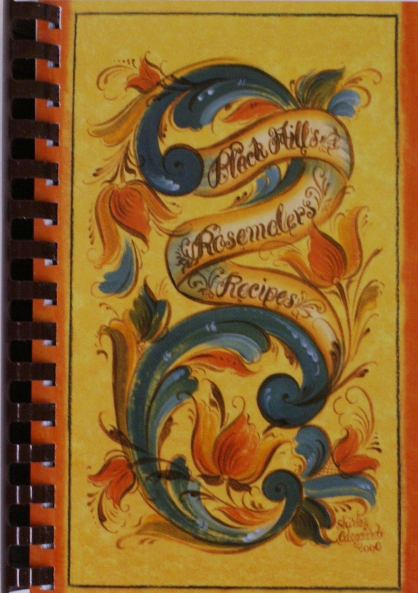 Black hills rosemalers recipes scandinavian folk art