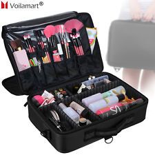 27435688df Extra Large Makeup Bag Vanity Case Cosmetic Nail Storage Beauty Box Portable