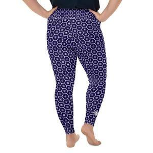 Women's Plus Size Yoga Pants Workout Leggings For Jiu Jitsu - Soldier Complex 001