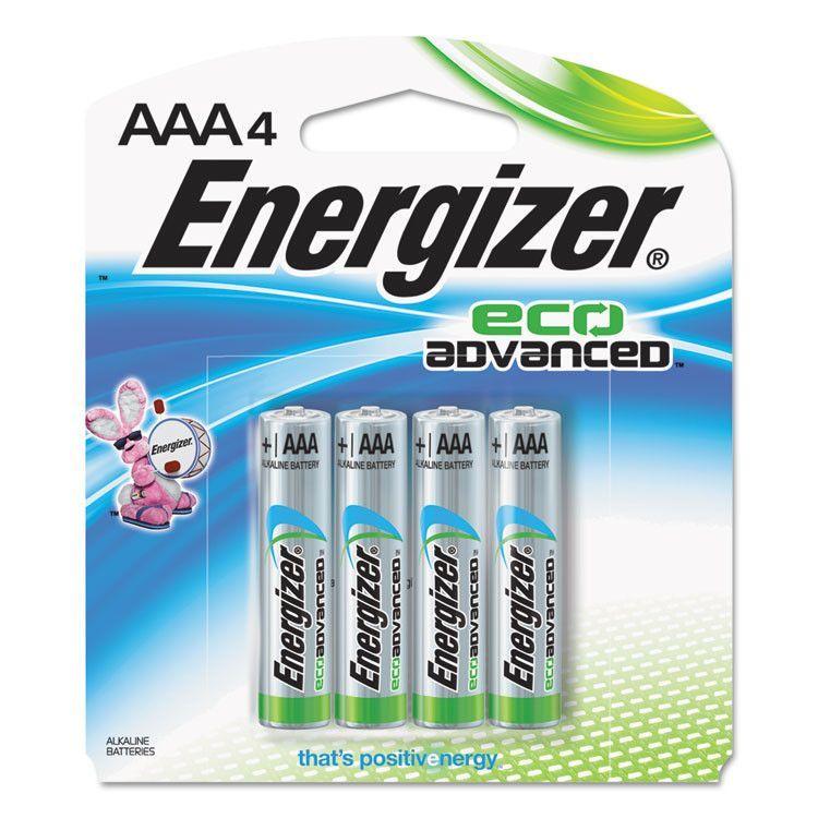 Eco Advanced Batteries, Aaa, 4/pk Energizer, Alkaline