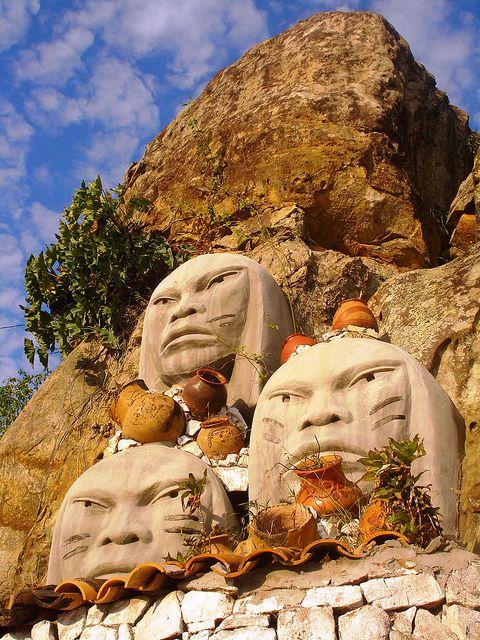 Rostros indígenas -Tobatí