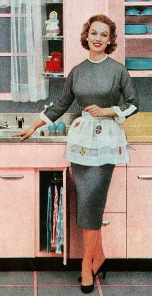 1950s House Dresses And Aprons History Vintage Fashion Vintage Fashion 1950s House Dress