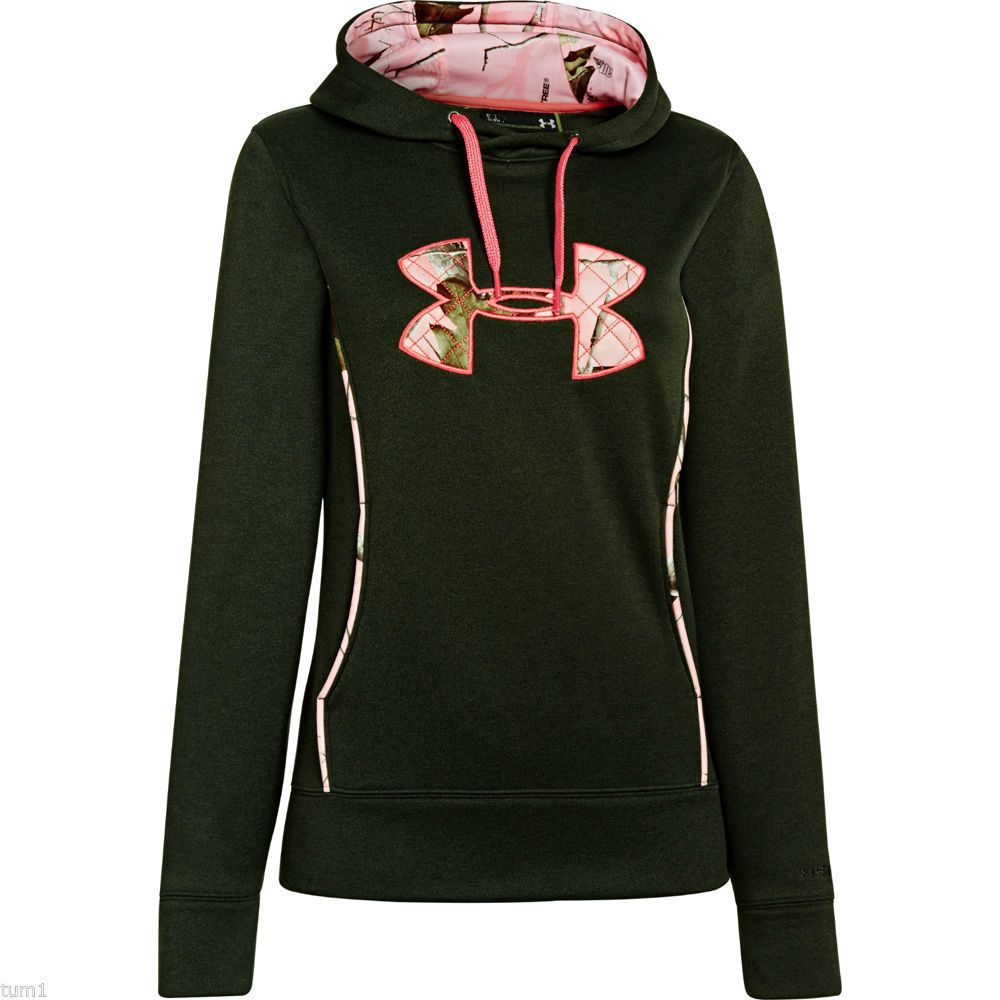 Under Armour women/'s Icon Camo Hoodie Large 1286056