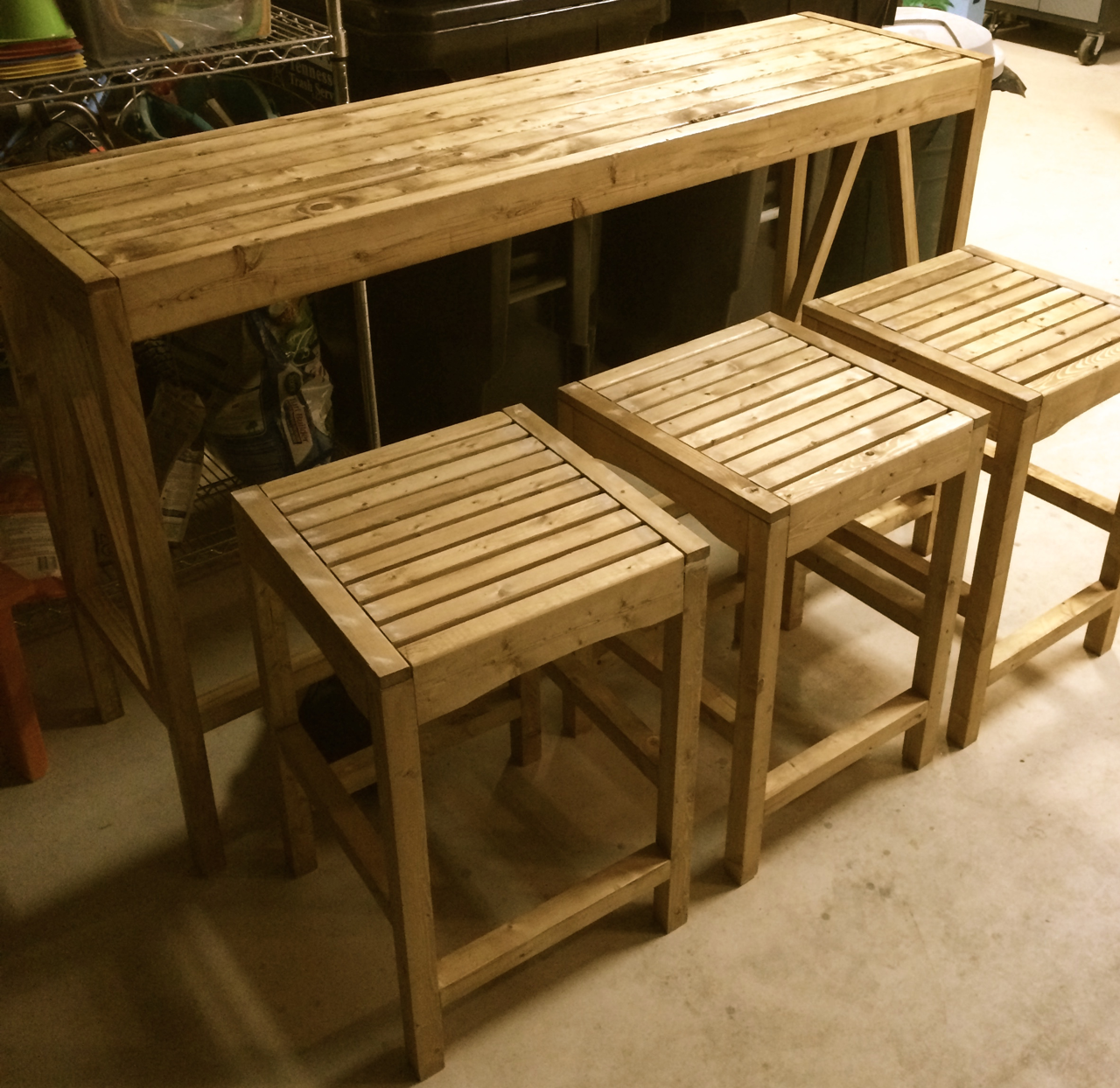 Ana White | Build a Sutton Custom Outdoor Bar Stools | Free and Easy ...