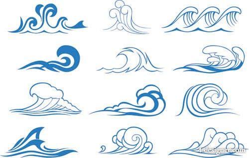 simple wave design
