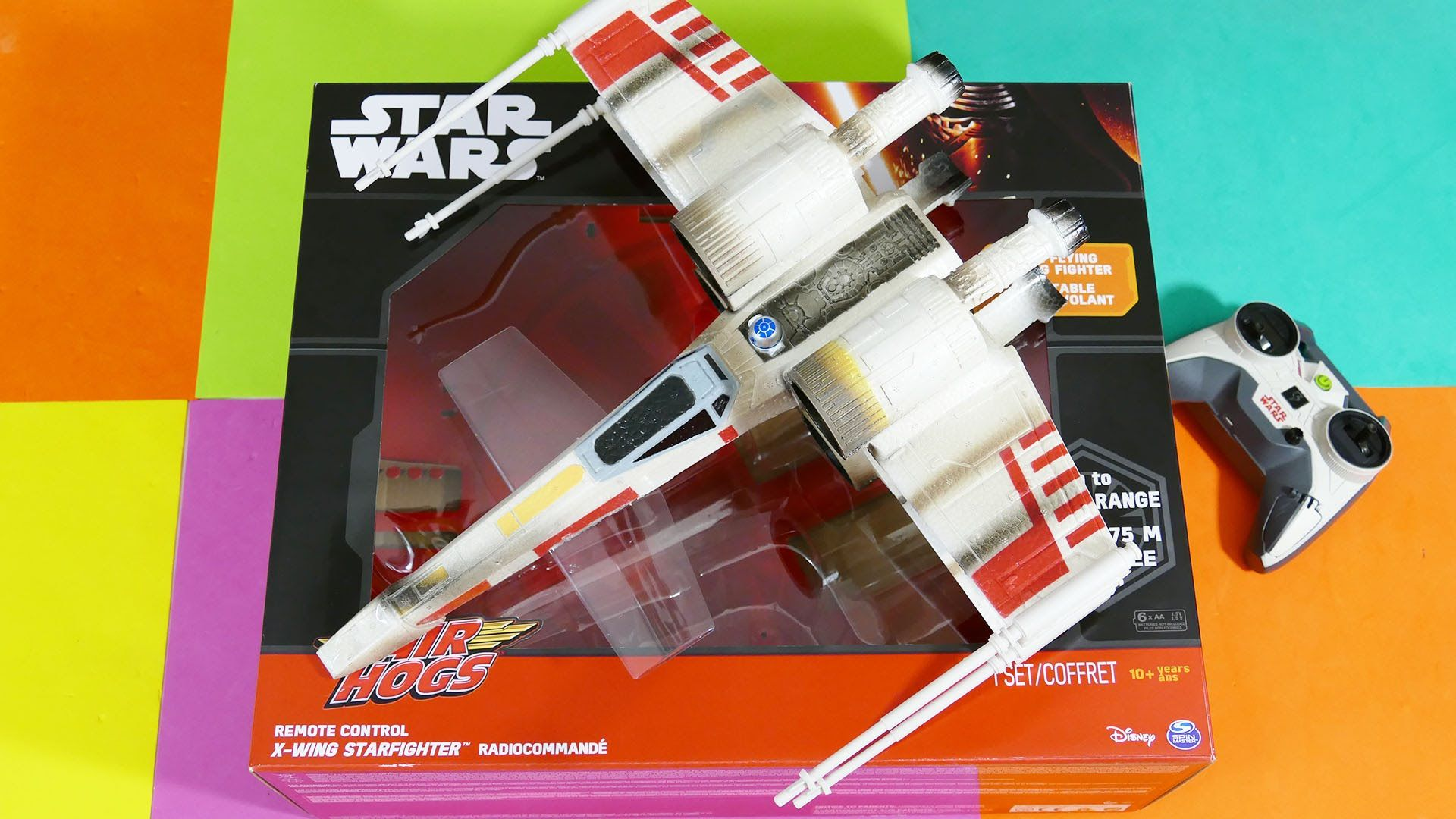 My X Wing Fighter Won T Fly Remote Control Star Wars X Wing By Air Hogs Kid Toys Are Fun Kid Toys X Wing Fighter Remote Control