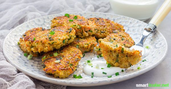 Photo of Protein-rich quinoa nuggets instead of chicken nuggets