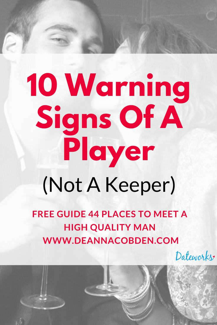 Signs of a player dating