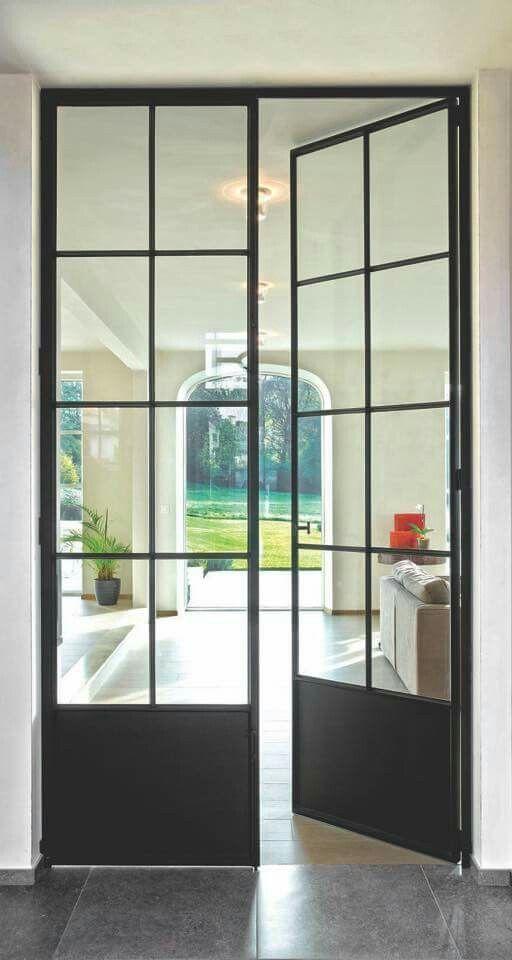 Iron Glass Paned Interior Doors Strathmore Pinterest Interior