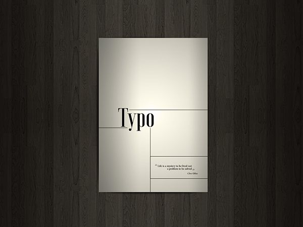 Typo on Behance