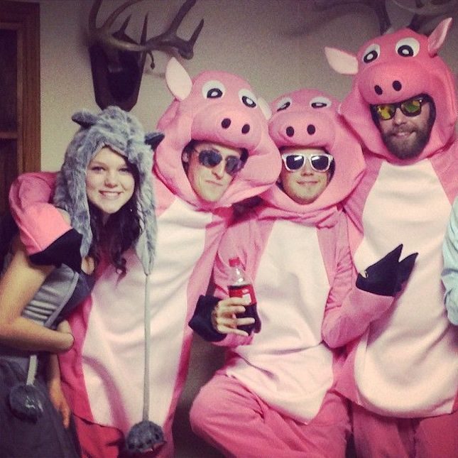100 Awesome Group Halloween Costume Ideas for 2015 via Brit + Co - different halloween costume ideas