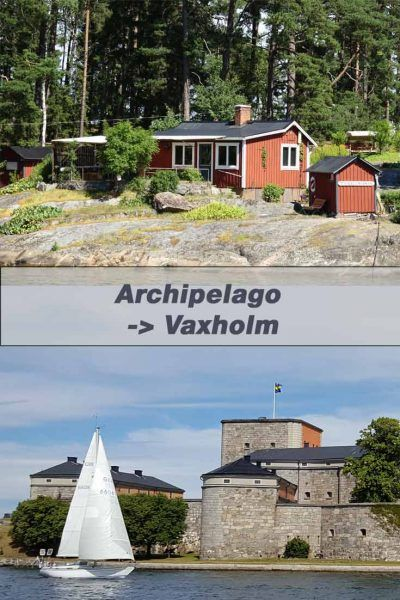 Excursion in the Archipelago, from Stockholm to Vaxholm