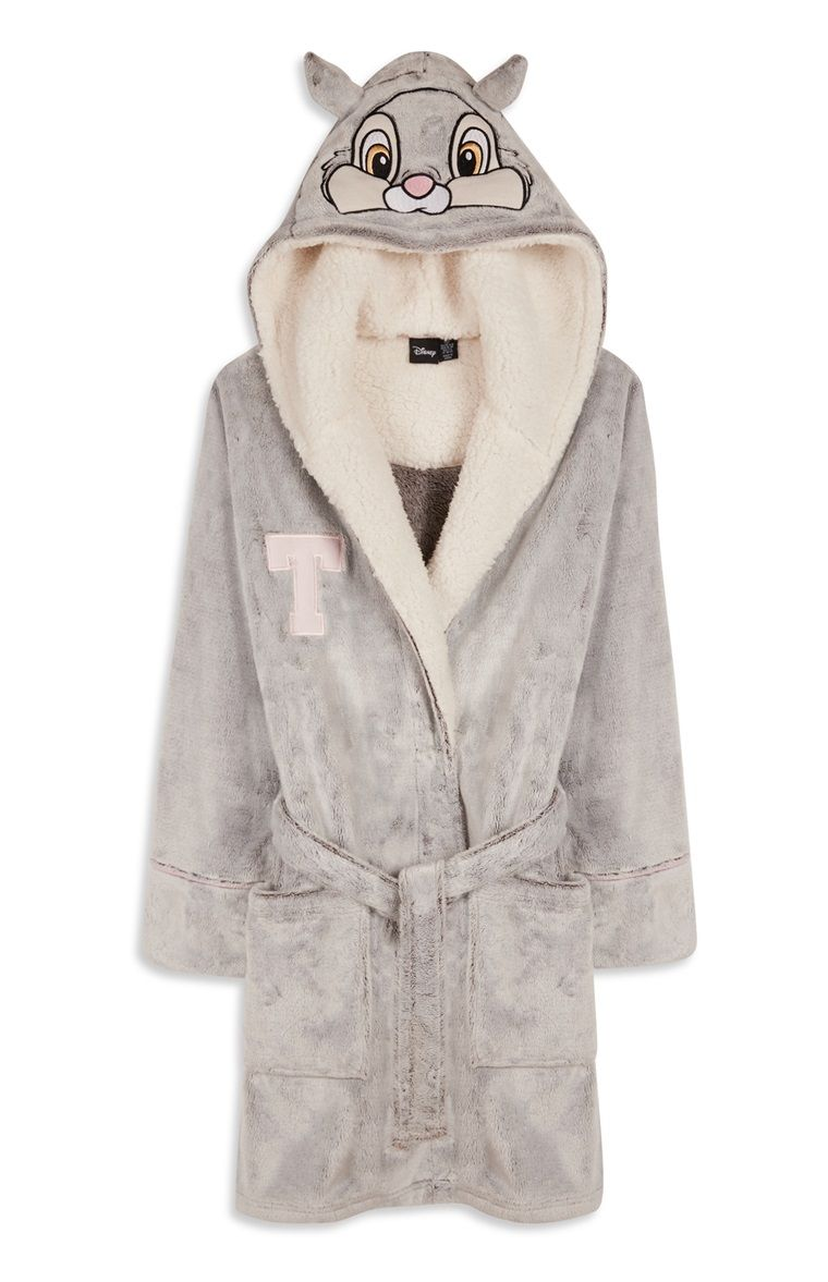 premium selection rich and magnificent attractivedesigns Primark - Grey Thumper Bunny Dressing Gown | Accessories ...