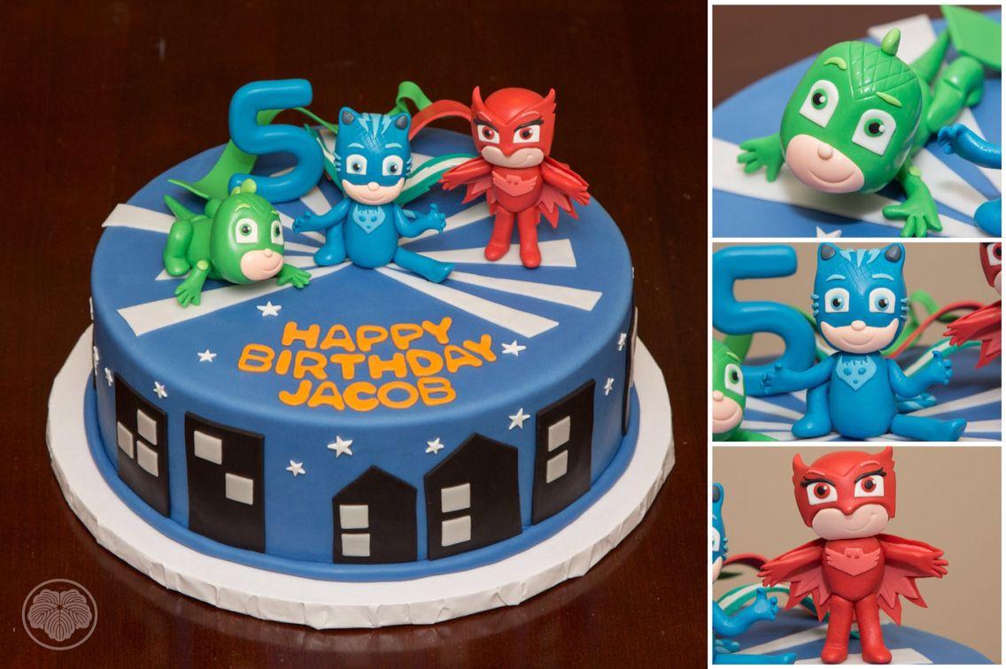 Disney's PJ Masks cake. | PJ Masks Birthday Party Ideas ...