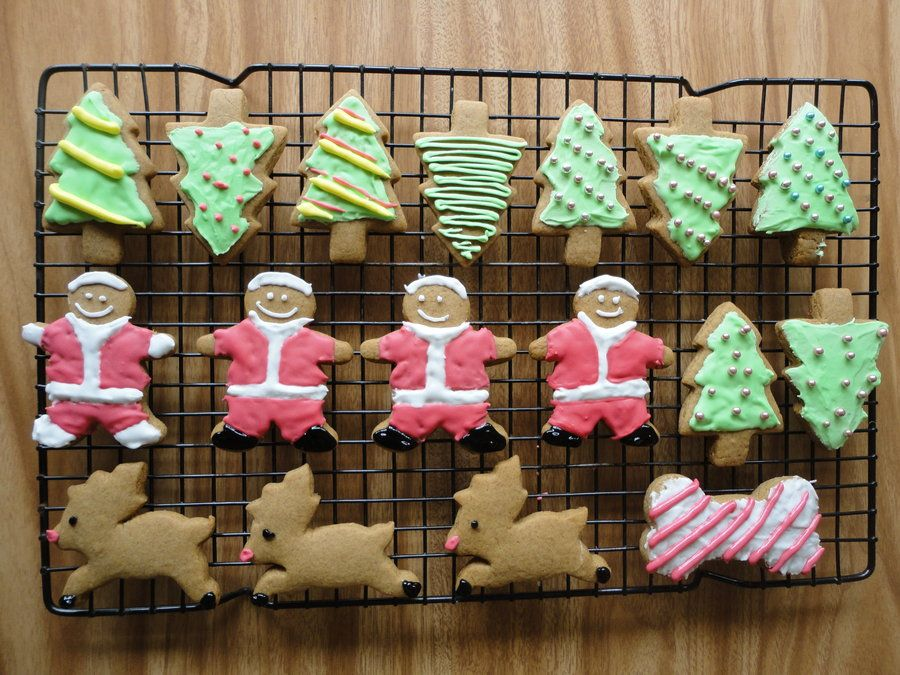 Gingerbread Cookie Recipe Christmas Cookie Recipe Icing Recipe
