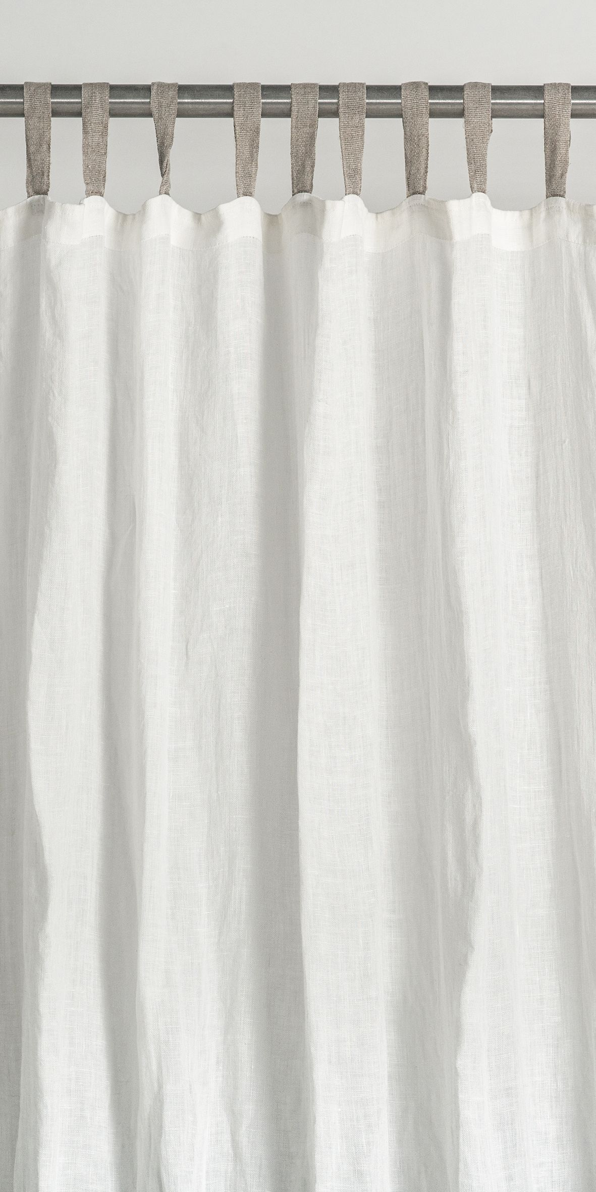 Tab Top Curtains Sheer Linen Curtains With Tabs Linen Window