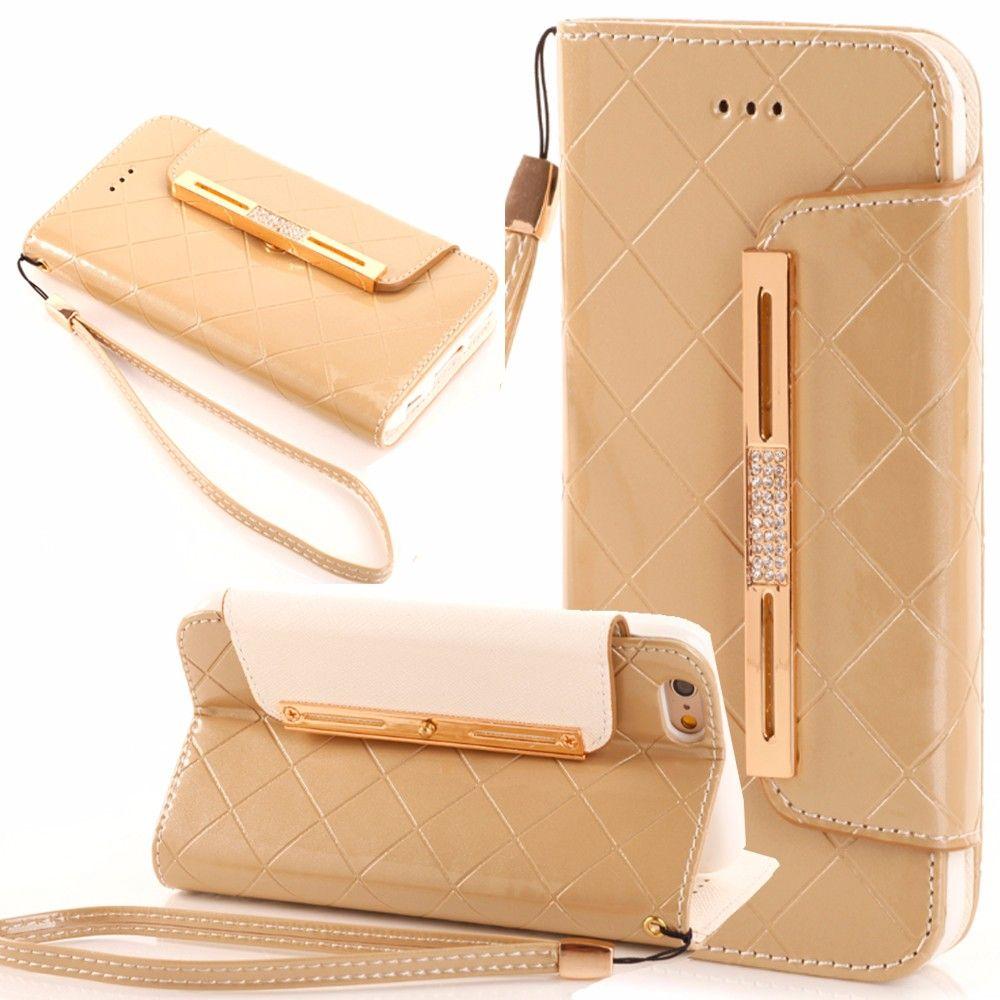 Fashion Wallet Flip Leather Case //Price: $17.96 & FREE Shipping //     #iphoneromeo