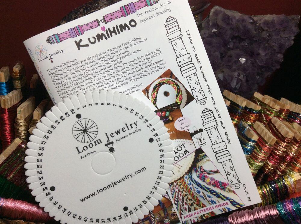 how to make a kumihimo loom