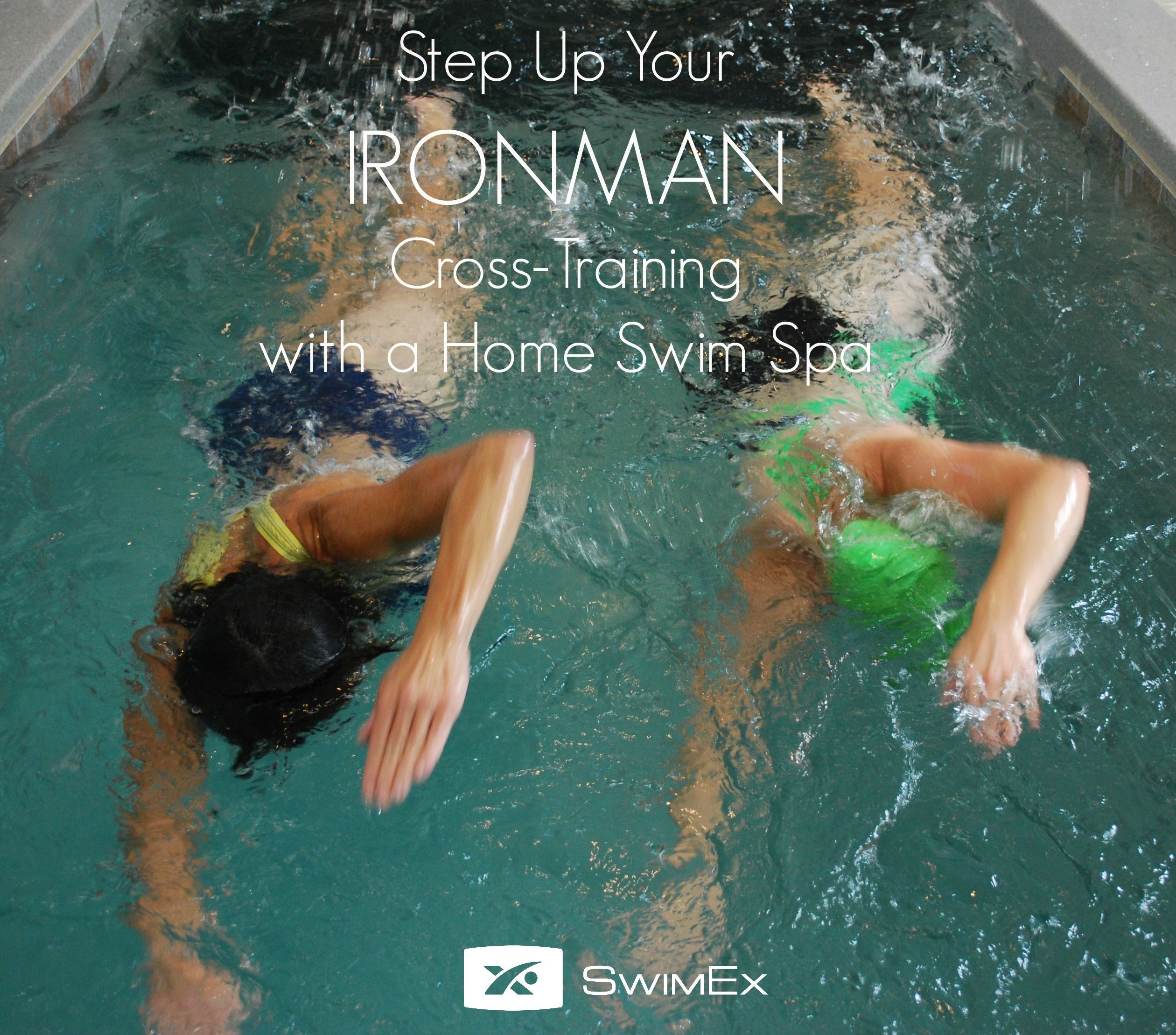 Read how to step up your Ironman cross-training with a home swim spa in the latest SwimEx blog.