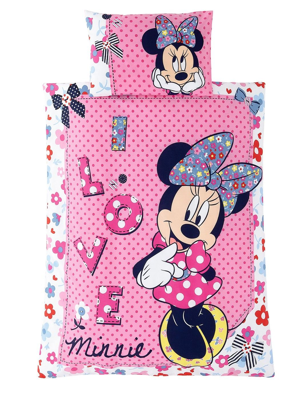 Minnie Mouse Toddler Bedding Set - Shopaholic | woolworths.co.uk ...