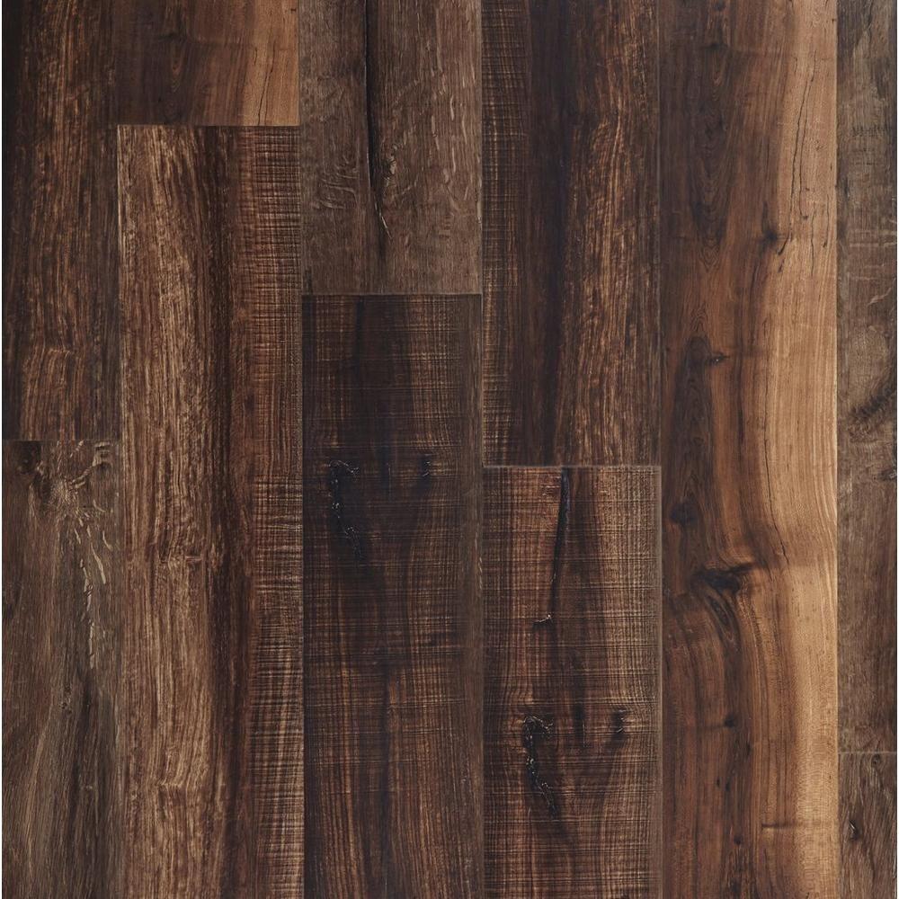 Mixed Mocha Rigid Core Luxury Vinyl Plank Cork Back Luxury Vinyl Plank Waterproof Flooring Waterproof Laminate Flooring