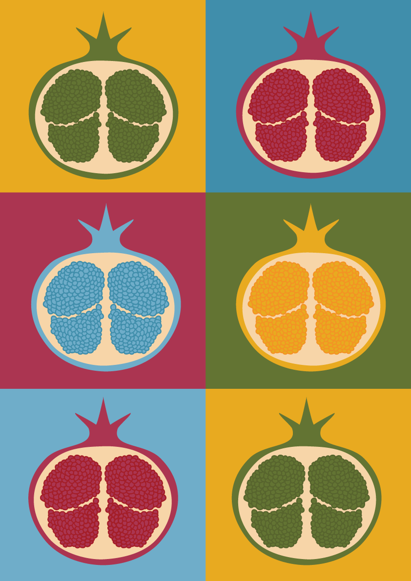 kitchen prints rugs target mid century modern art minimalist wall pop print scandinavian retro pomegranate