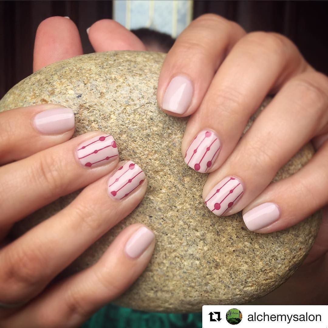 Beautiful nails done by @stef_stair at @alchemysalon !! Go visit them ASAP for nail hair and spa services!  #Repost @alchemysalon  Our incredible nail artist @stef_stair did this shellac mani with custom design.  she da best! #nailart #naildesigns #nailsofinstagram #shellac #manicure #ourlittleartist #knoxvillenails #alchemysalon #knoxvilletn #knoxville #ilovelocalknoxville