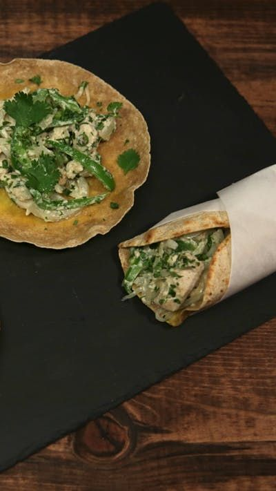 cashew chicken kathi rolls  recipe with images  rolled