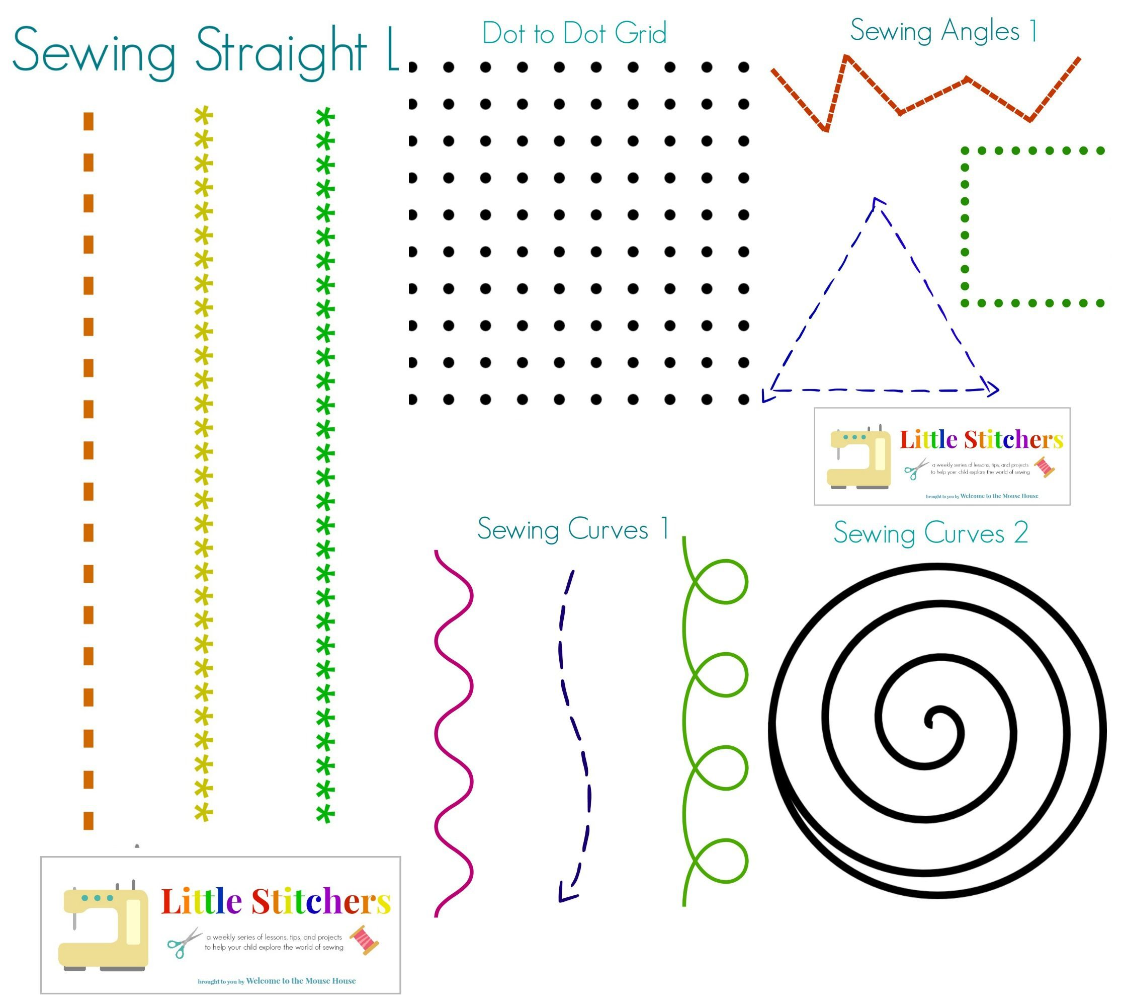Little Stitchers Week 2 Printable Pack